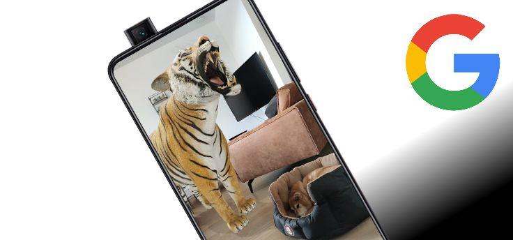 Levensgrote 3D-dieren in Google bekijken, kan het op jouw telefoon?