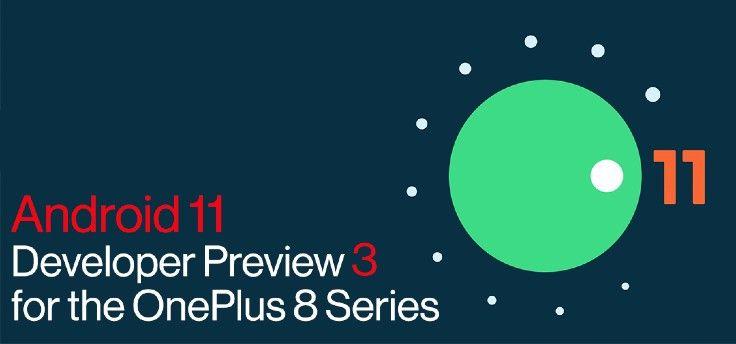 OnePlus 8 (Pro): Android 11 Beta 3 nu beschikbaar