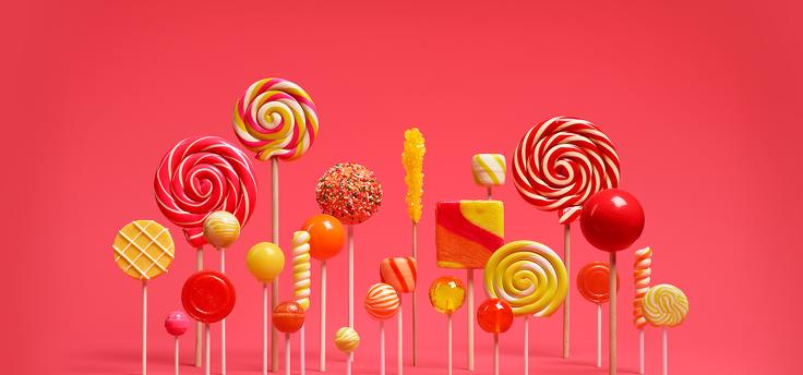 Android 5.1 Lollipop al gebruikt voor Google-presentatie?