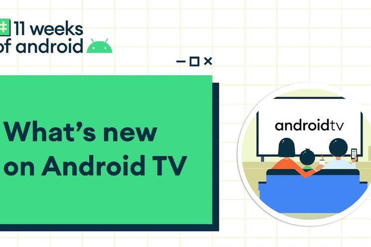 Google onthult nieuwe functies voor Android TV