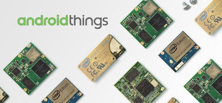 Android Things 1.0 officieel: focus op veiligheid