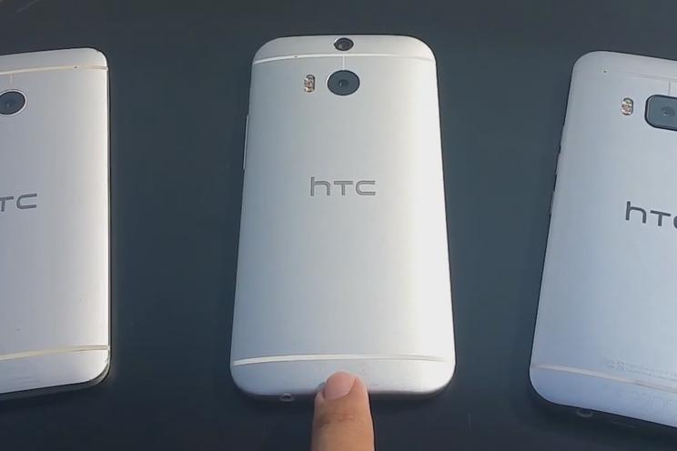 Filmpje en foto's zilverkleurige HTC One M9 verschijnen online