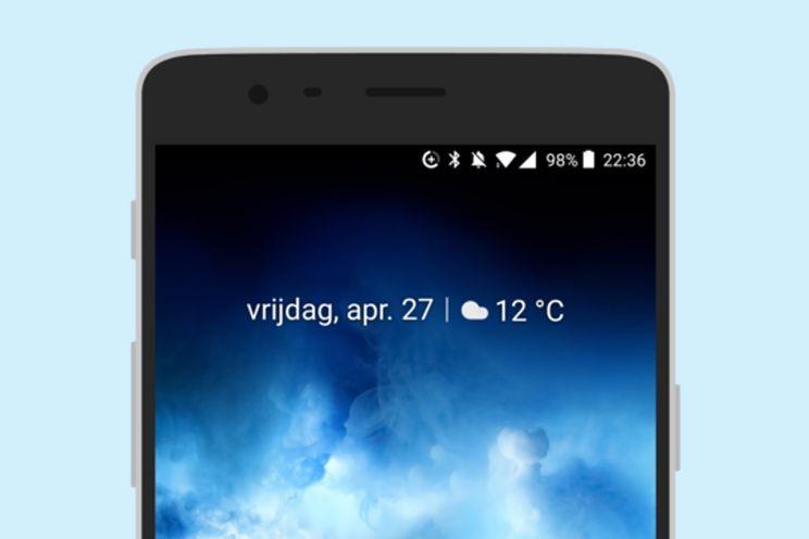 Handige 'At A Glance' widget van Pixel 2 nu op alle toestellen te gebruiken