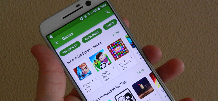 Google Play Services adverteert in Play Store: bug of feature?
