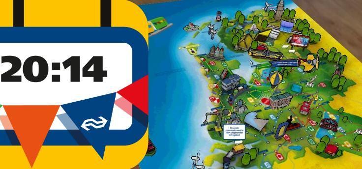 NS Spoorspel: ouderwets bordspel met app