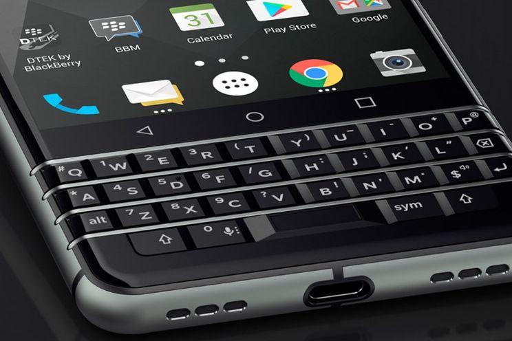 BlackBerry KEYone met Android 7.1 en een fysiek toetsenbord gepresenteerd