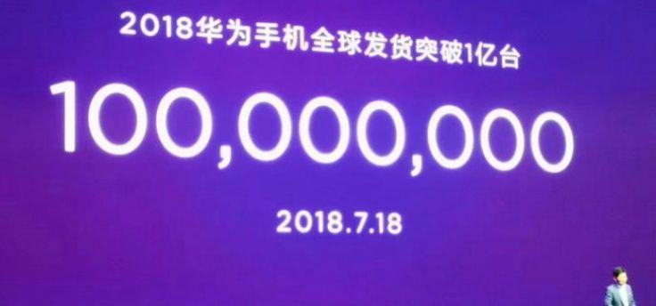 Huawei heeft dit jaar al 100 miljoen smartphones verkocht