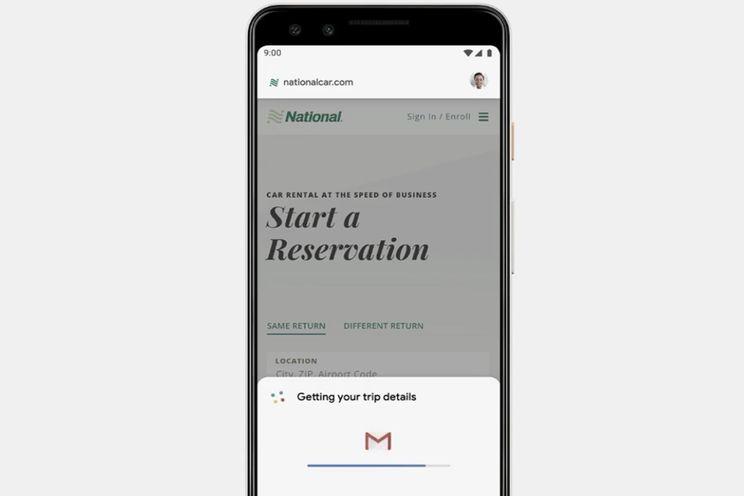 Google Duplex op het web: persoonlijke reserveringen nog gemakkelijker