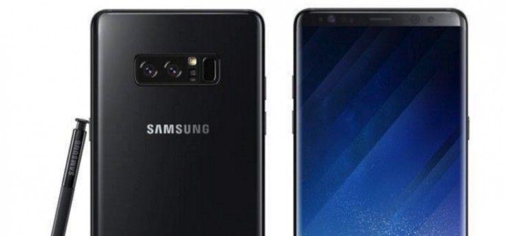 Samsung verkoopt prijzige Galaxy Note 8 met hoes