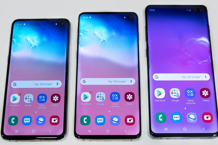 Dit zijn de verschillen tussen de Samsung Galaxy S10, S10e en S10 Plus