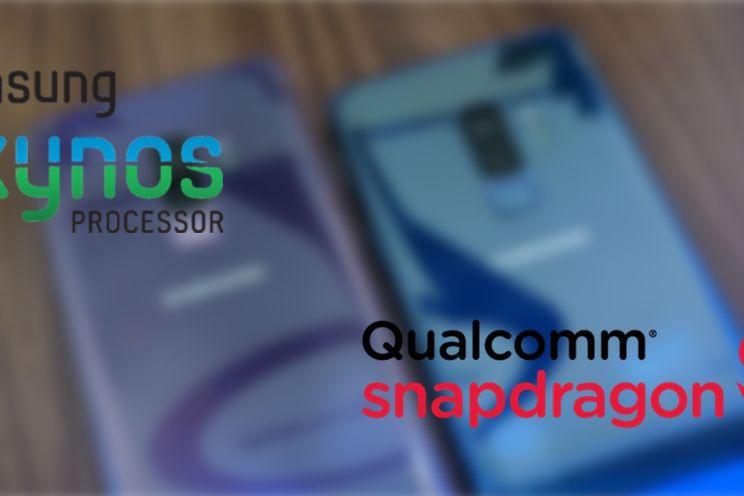 Samsung Galaxy S9 Exynos vs Snapdragon: en de winnaar is...