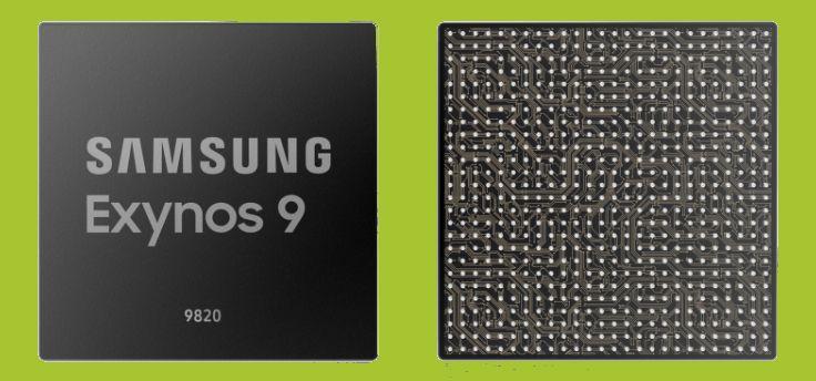Samsung Exynos 9820 officieel: 8 nanometer chipset met NPU en 2Gbps LTE-modem