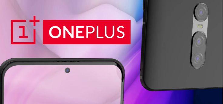 'OnePlus 7 samen met Pete Lau te zien op een foto'