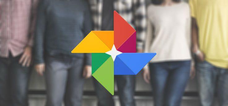 Google Foto's test handmatig taggen gezichten in nieuwe versie