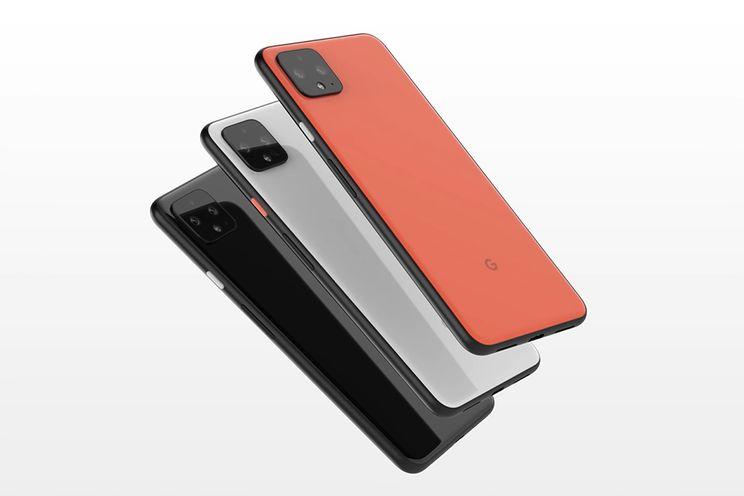 'Pixel 4 verschijnt in Clearly White, Just Black en Oh So Orange'