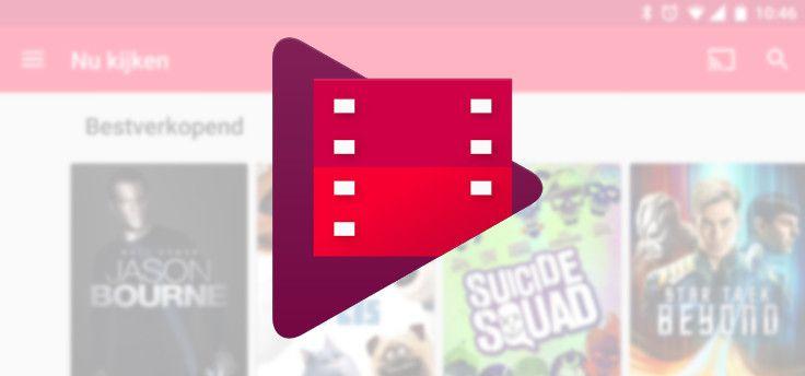 Google Play laat je tijdelijk films huren voor 99 cent