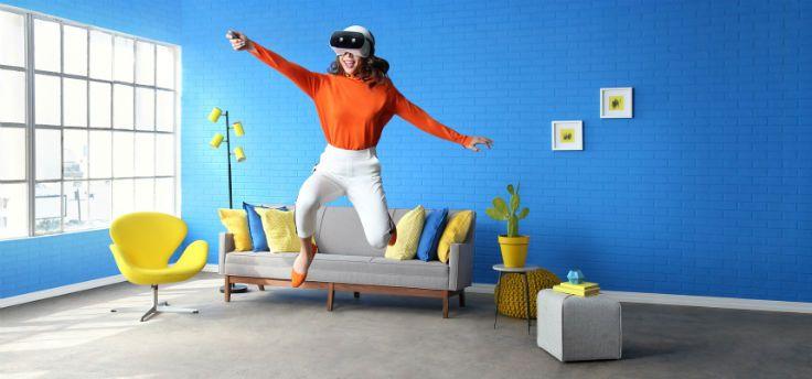 Lenovo Mirage Solo tilt Daydream VR naar een hoger niveau