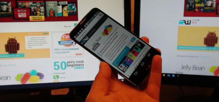 Zo ziet Android 4.4 KitKat er uit op de LG G2
