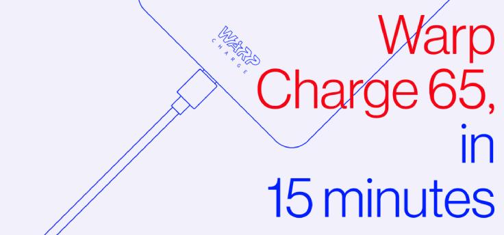 Officieel: OnePlus 8T krijgt 65 watt oplader met Warp Charge 65