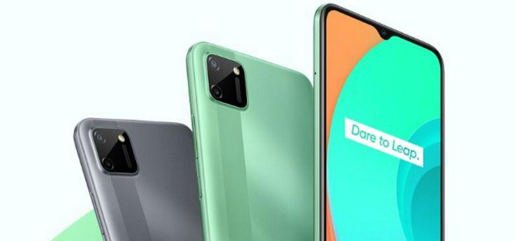 Realme C11-telefoon met grote accu in Nederland te koop voor 99 euro