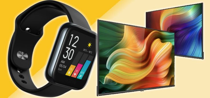 Realme Watch en Realme Smart TV met Android TV aangekondigd