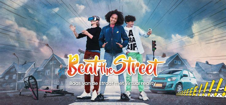 Beat the Street: VR-verkeersvoorlichting scholieren van Samsung en VVN