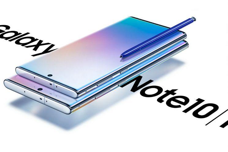 Samsung introduceert de nieuwe Galaxy Note 10-serie