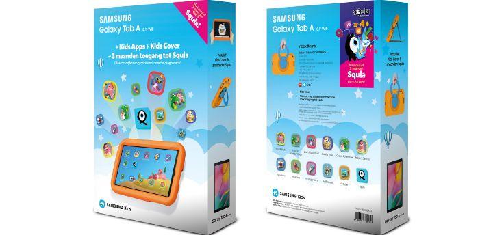 Samsung Kids Galaxy Tab A: limited edition voor kinderen met Squla