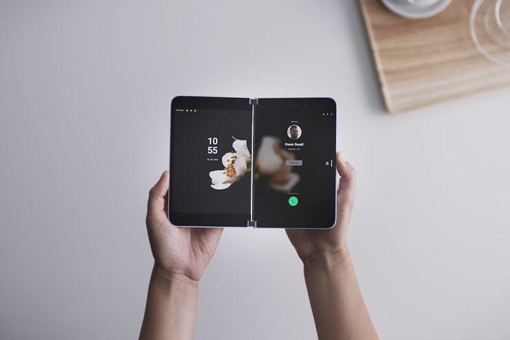 Microsoft Surface Duo officieel: Android-telefoon met twee schermen