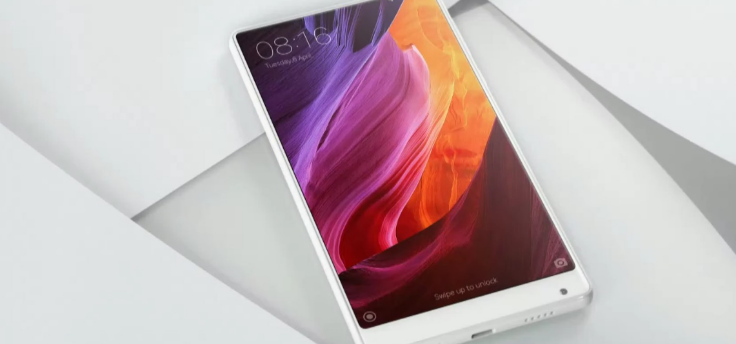 Witte Xiaomi Mi Mix is een bijna randloze parel