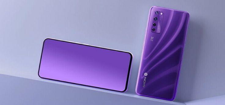 ZTE Axon 20 5G officieel: de eerste met selfiecamera onder het scherm