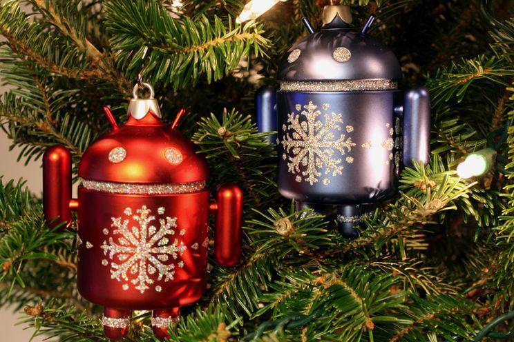 Nieuwe Android-kerstfiguren en -sokken van Dead Zebra