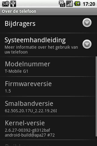 Alle Android versies (ROMs) op een rij