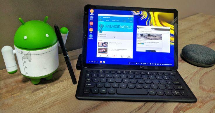 Android 10 arriveert op de Samsung Galaxy Tab S4 en Galaxy Tab S5e