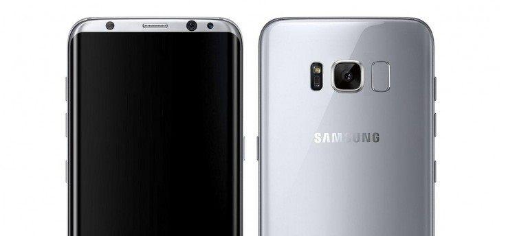 Die Samsung Galaxy S8-render lijkt nep