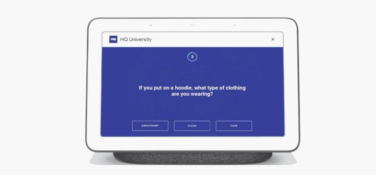 Google Assistent apps en spellen komen naar smart displays