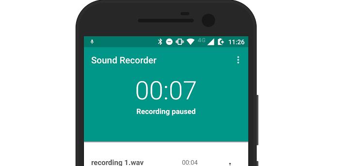 App van de week: Sound Recorder is een minimalistische geluidsrecorder
