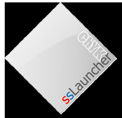 ssLauncher, een magazine-stijl launcher