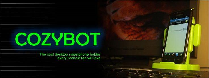 CozyBot levert Androidbureaustandaard voor maar €7,26