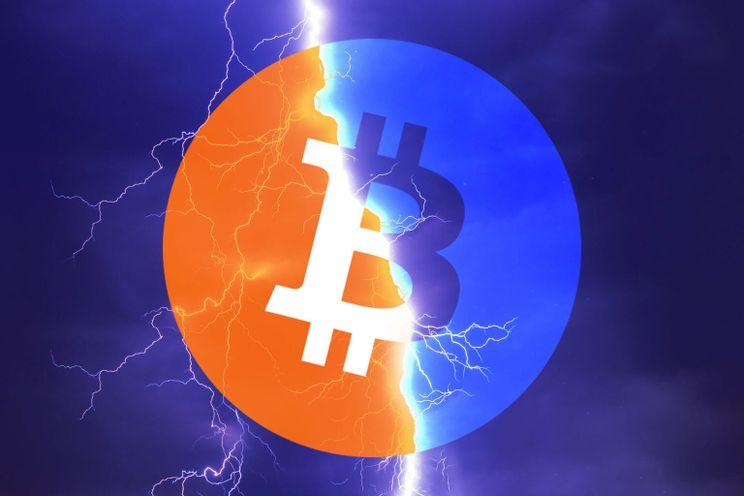 Bitcoin (BTC) ontvangen als wisselgeld kan met deze applicatie