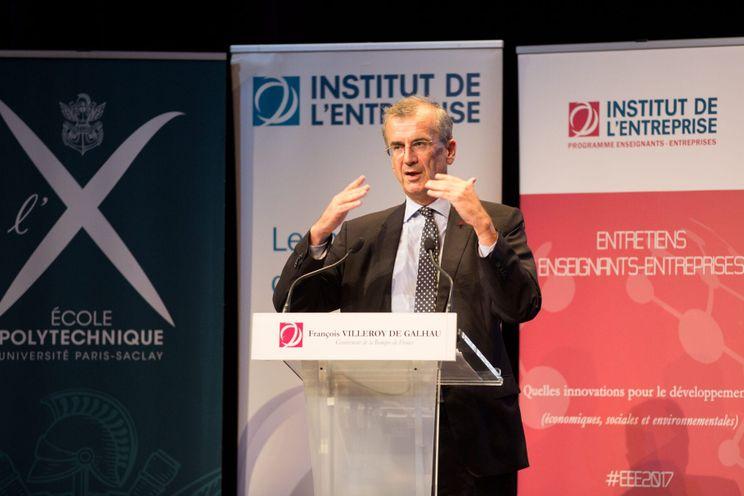 Franse centraal bankier: 'Bedrijven moeten geen digitale valuta uitgeven'