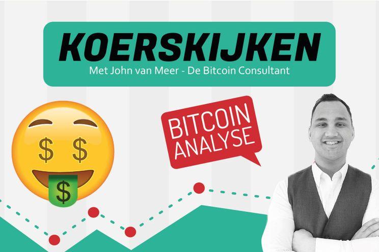 'Bitcoin koers bereikt $9.500. Volatiel weekend op komst!?'