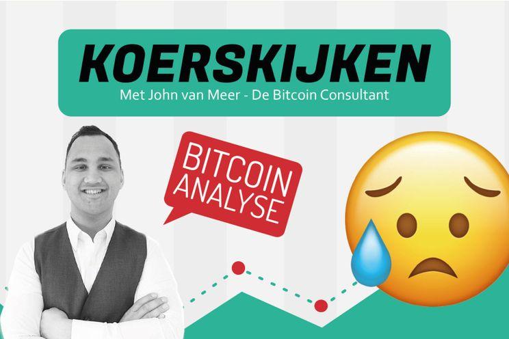 'Bitcoin koers blijft stokken bij $12.000. Hebben verkopers de overhand?