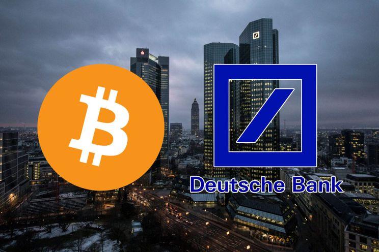 Deutsche Bank ziet niets in Bitcoin, breekt lans voor centrale bankmunt