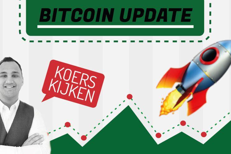 'Bitcoin koers stijgt $10.000 binnen 24 uur! Door naar $50.000?'