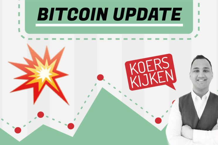 'Bitcoin koers koelt af, op naar $25.000 of toch een flinke correctie?'