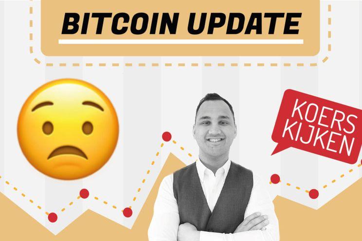 Bitcoin koers dipt onder $23.000, gaan we nog uitbreken naar boven?