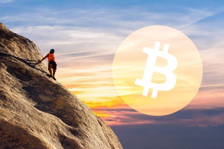 Bitcoin koers klimt omhoog en komt in bullish vaarwater