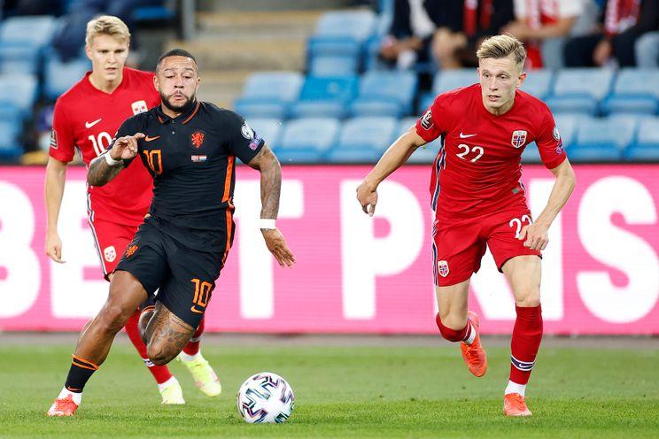 Aursnes en Pedersen spelen met Noorwegen gelijk tegen Turkije
