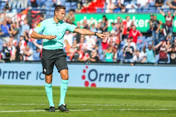 Van Boekel fluit Feyenoord - RKC